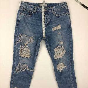 Topshop Jeans - TOPSHOP Moto Hayden Distressed Jeans
